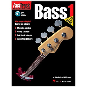Hal-Leonard-FastTrack-Bass-Method-Book-1-CD-Package-Standard