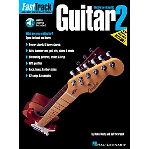 Hal-Leonard-FastTrack-Guitar-Method-Book-2--CD-and-Book--Standard