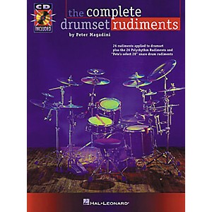 Hal-Leonard-The-Complete-Drumset-Rudiments-Book-CD-Package-Standard