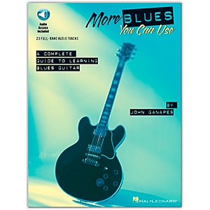 Hal-Leonard-More-Blues-You-Can-Use--Book-CD--Standard