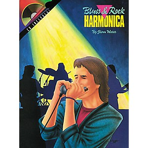 Hal-Leonard-Blues-and-Rock-Harmonica-Book-CD-Standard