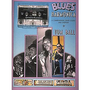 Centerstream-Publishing-Blues-Harmonica--Book-CD--Standard