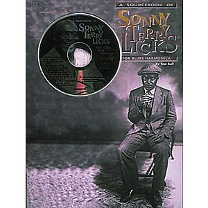 Centerstream-Publishing-Sonny-Terry-Licks-For-Blues-Harmonica--Book-CD--Standard