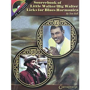 Centerstream-Publishing-Sourcebook-of-Little-Walter-Big-Walter-Licks-for-Blues-Harmonica-Book-with-CD--Standard