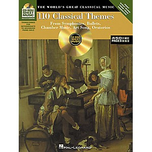 Hal-Leonard-110-Classical-Themes-CD-ROM-Sheet-Music-Standard