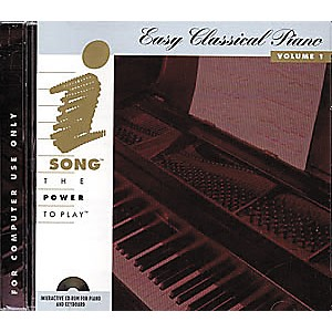 iSong-Easy-Classical-Piano-Volume-1--CD-ROM--Standard