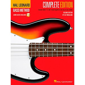 Hal-Leonard-Electric-Bass-Method---Second-Edition--Book-CD--Standard