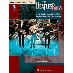 Hal-Leonard-The-Beatles-Bass-Signature-Licks-Book-with-CD--Standard