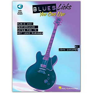 Hal-Leonard-Blues-Licks-You-Can-Use--Guitar--Book-CD-Standard