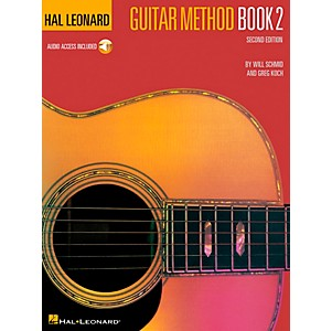 Hal-Leonard-Guitar-Method---Book-2-Book-CD-Standard