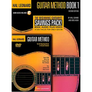 Hal-Leonard-Guitar-Method-Book-1---CD---DVD-Standard
