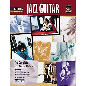 Alfred-Mastering-Jazz-Guitar--Improvisation--Book-CD--Standard