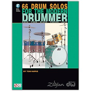 Hal-Leonard-66-Drum-Solos-for-the-Modern-Drummer-Book-CD-Standard