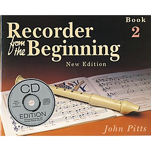 Music-Sales-Recorder-From-the-Beginning--Book-and-CD-2-Standard
