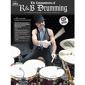 Alfred-Zoro-Commandments-of-R-n-B-Drumming-Book-CD-Standard