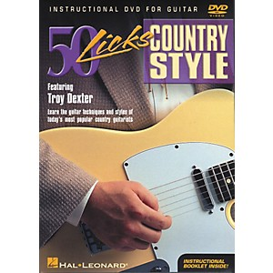 Hal-Leonard-50-Licks-Country-Style-DVD-Standard