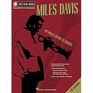 Hal-Leonard-Miles-Davis---Jazz-Play-Along--Book-CD--Standard