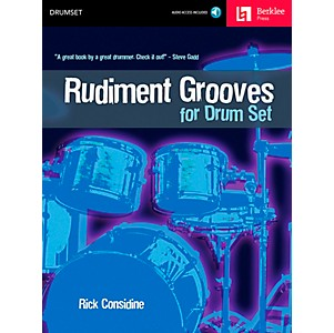 Berklee-Press-Rudiment-Grooves-for-Drum-Set--Book-CD--Standard
