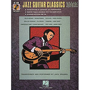 Hal-Leonard-Jazz-Guitar-Classics-CD---Book--Standard