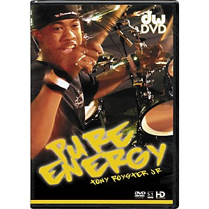 The-Drum-Channel-Pure-Energy--Tony-Royster-Jr--DVD-Standard