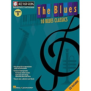 Hal-Leonard-Jazz-Play-Along-Series-The-Blues-Book-with-CD--Standard