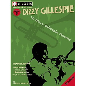 Hal-Leonard-Dizzy-Gillespie---Jazz-Play-Along-Volume-9-Book-with-CD-Standard