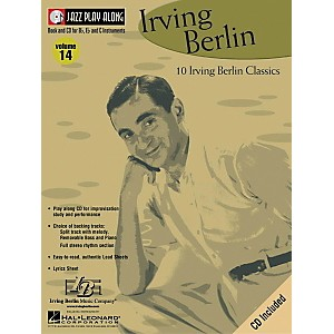 Hal-Leonard-Irving-Berlin---Jazz-Play-Along-Volume-14-Book-with-CD-Standard