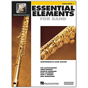 Hal-Leonard-Essential-Elements-For-Band---Flute-Book-1-with-EEi--Book-CD-ROM--Standard