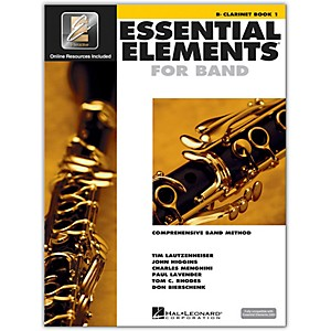 Hal-Leonard-Essential-Elements-For-Band---Clarinet-Book-1-With-EEi--Book-CD-ROM--Standard