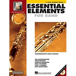Hal-Leonard-Essential-Elements-For-Band---Alto-Clarinet-Book-1-With-EEi--Book-CD-ROM--Standard