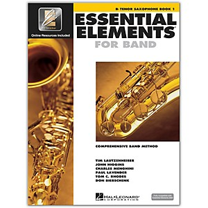 Hal-Leonard-Essential-Elements-For-Band---Tenor-Saxophone-Book-1-With-EEi--Book-CD-ROM--Standard