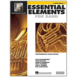 Hal-Leonard-Essential-Elements-For-Band---French-Horn-Book-1-With-EEi--Book-CD-ROM--Standard