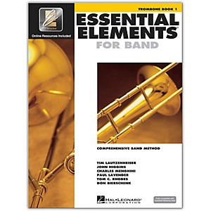 Hal-Leonard-Essential-Elements-For-Band---Trombone-Book-1-With-EEi--Book-CD-ROM--Standard