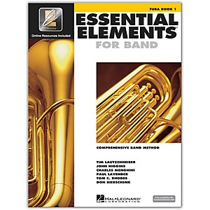 Hal-Leonard-Essential-Elements-For-Band---Tuba-Book-1-With-EEi--Book-CD-ROM--Standard