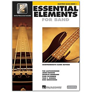 Hal-Leonard-Essential-Elements-For-Band---Electric-Bass-Book-1-With-EEi--Book-CD-ROM--Standard