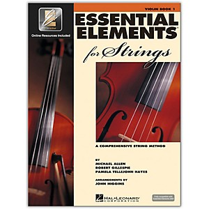Hal-Leonard-Essential-Elements-For-Strings---Violin-Book-1-With-EEi--Book-CD-ROM--Standard