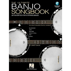 Hal-Leonard-Ultimate-Banjo-Tab-Songbook-with-CD--Standard