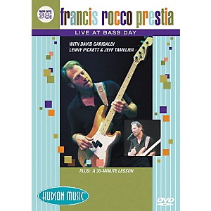 Hudson-Music-Francis-Rocco-Prestia---Live-at-Bass-Day-1998--DVD--Standard