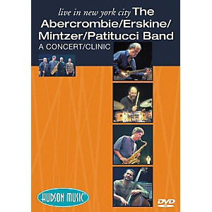 Hudson-Music-The-Abercrombie-Erskine-Mintzer-Patitucci-Band-Live-in-NYC--DVD--Standard