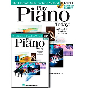 Hal-Leonard-Play-Piano-Today--Level-One--Book-CD-DVD--Standard
