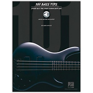 Hal-Leonard-101-Bass-Tips-of-the-Pros--Book-CD--Standard