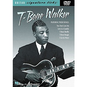Hal-Leonard-T-Bone-Walker-Signature-Licks--DVD--Standard