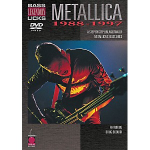 Cherry-Lane-Metallica---Bass-Legendary-Licks-1988-1997--DVD--Standard