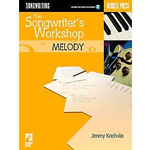 Berklee-Press-The-Songwriter-s-Workshop--Melody--Book-CD--Standard