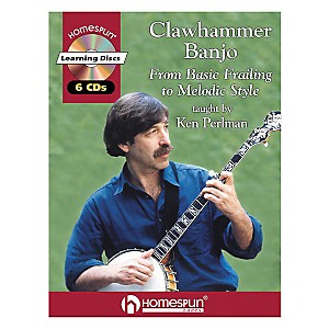 Homespun-Clawhammer-Banjo--Book-CD--Standard