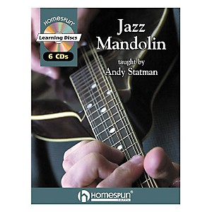 Homespun-Jazz-Mandolin--Book-CD--Standard