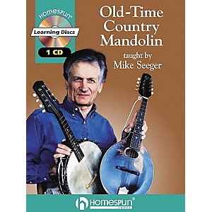 Homespun-Old-Time-Country-Mandolin--Book-CD--Standard
