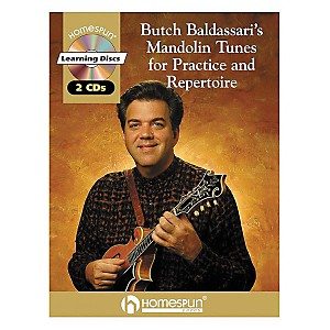 Homespun-Butch-Baldassari-s-Mandolin-Tunes-for-Practice---Repertoire-Book-with-CD-Standard