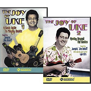 Homespun-The-Joy-of-Uke---Volume-1-and-2--DVD--Standard