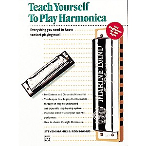 Alfred-Teach-Yourself-To-Play-Harmonica-Book-CD-Standard